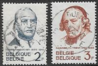 Belgium SG1814-1815 1962 Gochet and Triest Commemoration 2v set complete good/fine used